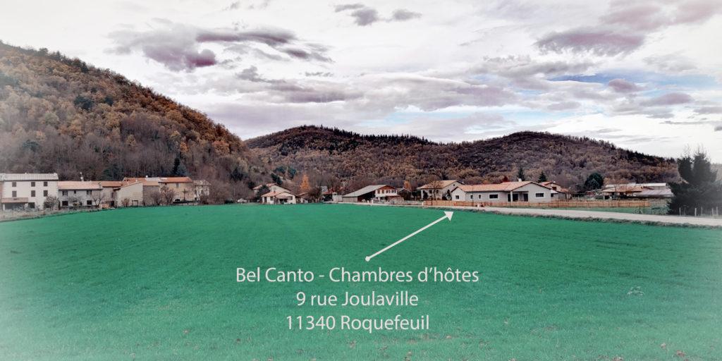 Bel Canto Chambres d'hôtes Roquefeuil Hébergement