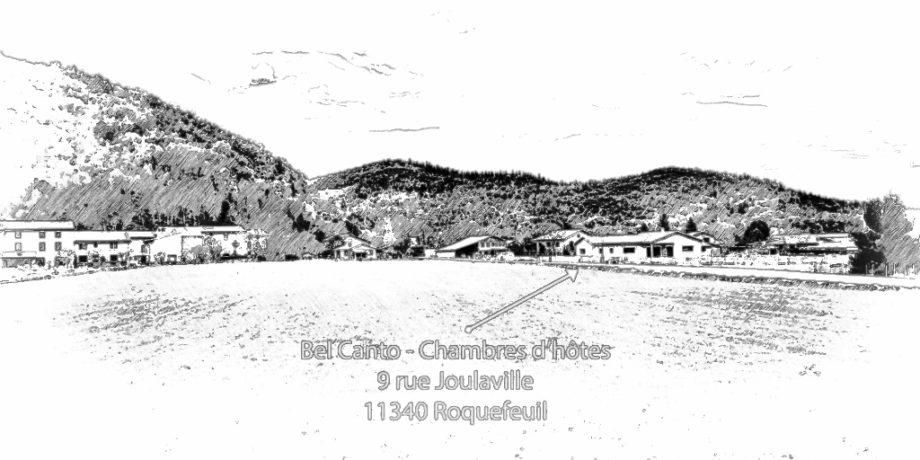 Bel Canto - Chambres d'hôtes Roquefeuil - Hébergement Roquefeuil - Hôtel Roquefeuil - Chambres d'hôtes Pays de Sault - Chambres d'hôtes Plateau de Sault